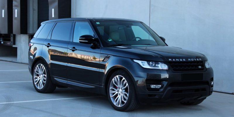 Range Rover chauffeur hire