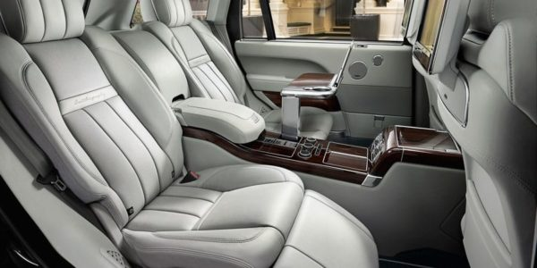 Range Rover Chauffeur hire London