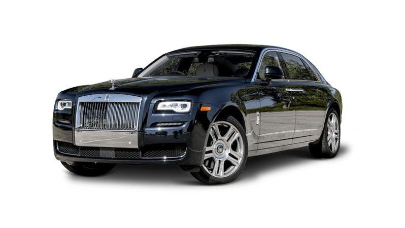 Rolls Royce chauffeur driven car