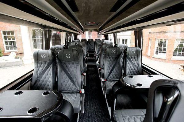 Minicoach hire London