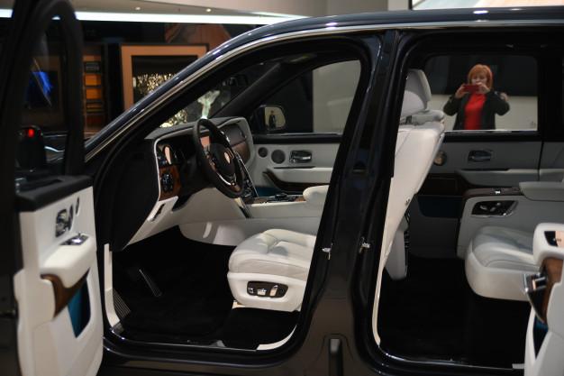 Rolls Royce Car interior